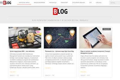 Blog o logistyce
