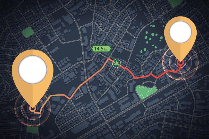 Planowanie tras – darmowa mapa