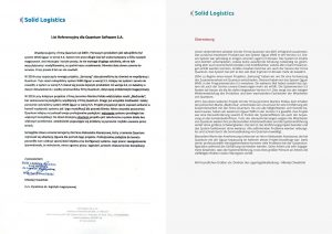 Referenzen Solid lLogistics