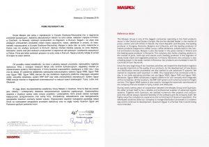 Reference Maspex