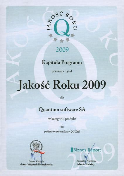 Jakość Roku 2009